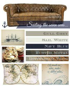 my maritime mood board