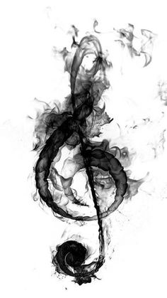 20 Ideas For Music Note Tattoo Treble Clef Tatoo Treble Clef Art, Treble Clef Tattoo, Music Drawings, Music Artwork, Art Drawings, Tattoo Aquarelle, Tattoo Watercolor, Watercolor Water, Musik Wallpaper