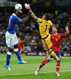 Iker Casillas - Spain v Italy - UEFA EURO 2012 Final