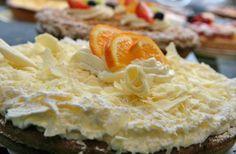 adorno para torta de naranja