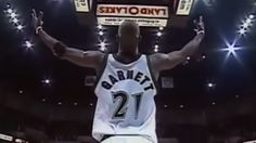 Kevin Garnett is back in Minnesota. The Timberwolves showed this video reliving some of his best moments from his time with the team.