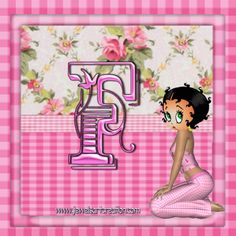 a-z, alphabet profile, Betty Boop, free alphabets, profile pictures, country rose profile