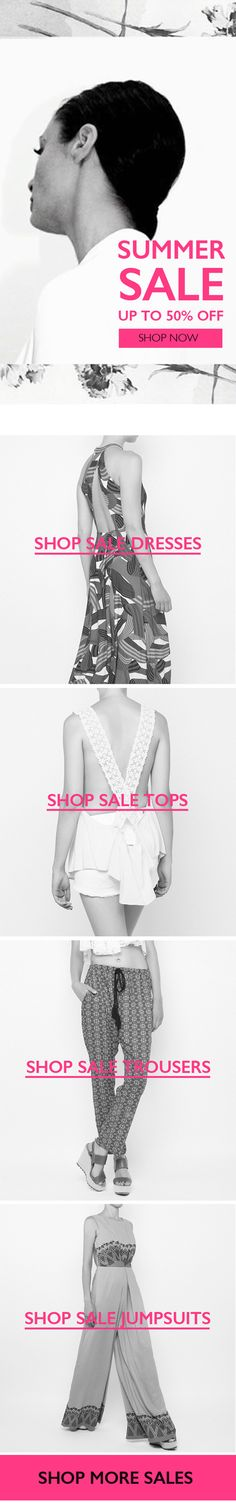 BSB Fashion Newsletter S/S 15 - Summer Sale- Subscribe for more >> www.bsbfashion.com