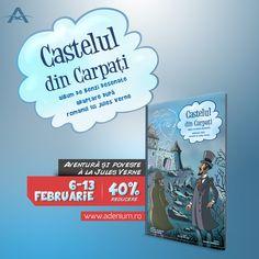 """Editura Adenium te invită în """"Castelul din Carpați"""""""