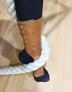 460aa4422 Short TAN/ Light Brown Aerial boots - for Aerial training on trapeze, aerial  hoop. Isabella Mars