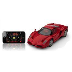 Enzo Ferrari Radiocomandata con Bluetooth Interattivo di Silverlit per iPhone