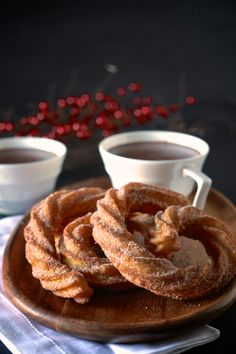 Spanish Hot Chocolate and Coconut Churros |