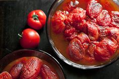 Fire-Roasted Tomatoes recipe and instructions to can them!