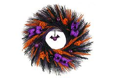 "22"" To The Bat Cave Wreath on OneKingsLane.com"
