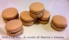 Arte e cucina...le ricette di Marisa e Simona: Macarons alle nocciole e nutella