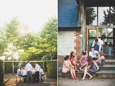 Louise and Craig's #wedding day at The Barn at Bury Court