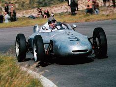 1961 Ben Pon, Ecurie Maarsbergen Team, Porsche 787 Porsche