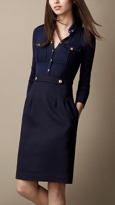 Burberry. - Heritage Shirt Dress #burberry #nattygal #shirtdress