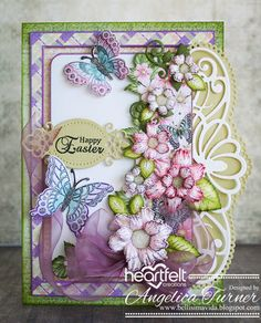 Bellisima Vida: Easter card Heartfelt Creations style                                                                                                                                                     More
