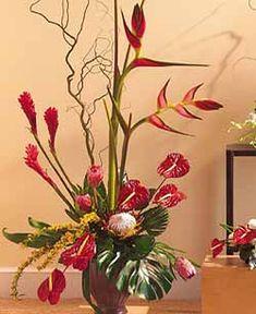 Large Ginger floral arrangement