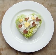 14 Days of Heart Shaped Food: Day One, Heart Shaped Salad