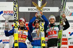 Peter Prevc Michael Hayboeck Photos: FIS Nordic World Cup: Four Hills Tournament