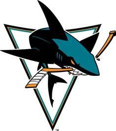 San Jose Sharks Alternate Logo on Chris Creamer's Sports Logos Page - SportsLogos. A virtual museum of sports logos, uniforms and historical items. Hockey Logos, Nhl Logos, Ice Hockey Teams, Sports Logos, Sports Teams, San Jose Sharks, M Sport Logo, Zbrush, King Shark