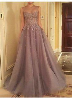 Beautiful Abiballkleider/Abendkleider Herz-Ausschnitt Sexy lange Abendkleider JKS111