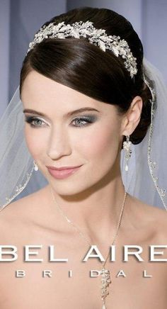 Bel Aire Bridal Veils and Headpieces V7087 | Terry Costa Dallas