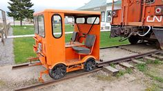 Fairmont Speeder - Delburne, AB - Railroad Maintenance-Of-Way ...