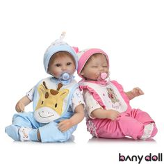Open Eyes Baby Girl Boy Doll with Pacifier and Milk Bottle Open Eyes Boy The Magic Toy Shop 17 Realistic Reborn Handmade Sleeping