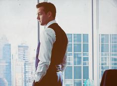 Harvey Specter. He's the complete opposite of the kind of man I like, but he's Harvey, and he's an exception <3