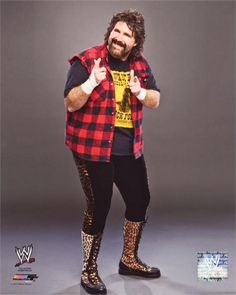 Your number one source for WWE & TNA professional wrestling merchandise! Ecw Wrestling, Wrestling Superstars, Famous Wrestlers, Wwe Wrestlers, Wrestling Costumes, Mick Foley, Cute Piglets, Wwe Tna, Female Photographers