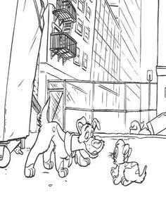Desenhos para colorir para crianças. Desenhos para imprimir e colorir Oliver e sua Turma 21