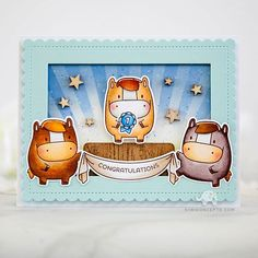 Today's Stamp Highlight is focused on the Zodiac Horse! Cute Birthday Cards, Birthday Messages, Diy Cards, Your Cards, New Zodiac, Mama Elephant Stamps, Horse Birthday, Interactive Cards, Elephant Design