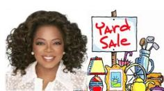 A blog post about the big yard sale that Oprah Winfrey had to raise money for the Oprah Winfrey Leadership Academy Foundation College Fund.