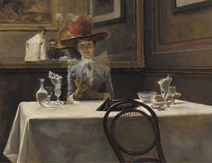 The Corner Table, Irving R. Wiles. American (1861 - 1948)