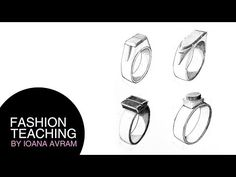 How to draw rings - YouTube