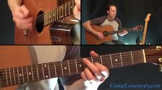 Old Man Guitar Lesson - Neil Young - Acoustic.