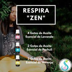 Mezcla para Difusor de Aromaterapia para estar Zen y meditar  Aceite Esencial de Lavanda Aceite Esencial de Pachuli Aceite Esencial de Naranja Zen, Tips Belleza, Natural Oils, Doterra, Reiki, Essential Oils, Diffuser, Patchouli Essential Oil, Essential Oil Combinations