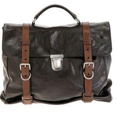 Belted man bag