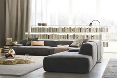 Modernes Sofa CLOUD : MODULAR by Francesco Rota LEMA Home  This couch is my ideal couch for my apartment. Love it!