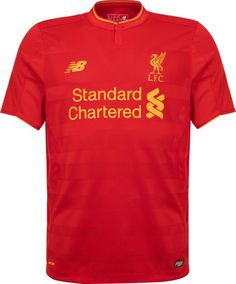 a82da2587e2 The new Liverpool 16-17 home kit does it without any white applications.  Liverpool s