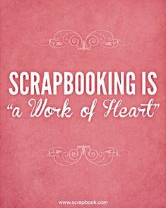 Quote: Scrapbook is...