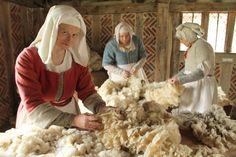 Ruth Goodman in the BBC's Tudor Monastery farm