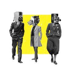 Mr. Observer #collage #artwork #illustration