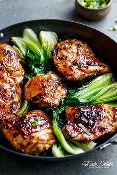 Asian Glazed Chicken Thighs | Cafe Delites