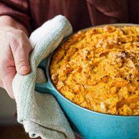 Sweet Potato Spoon Bread: Spoon bread is a cross between grits and ...