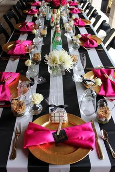 round black sparkle table cover - Google Search (Kate Spade Water Bottle)