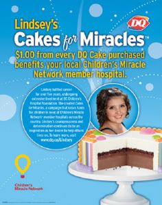 Treat Mom to a DQ Cake and Support the Children's Miracle Network through Lindsey's Cakes for Miracles #LCFM