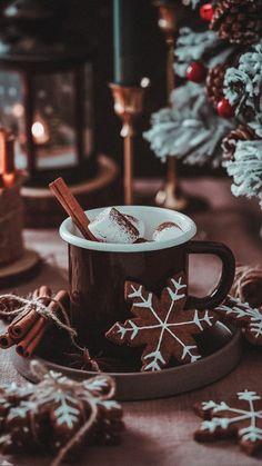 Xmas Wallpaper, Christmas Phone Wallpaper, Winter Wallpaper, Happy Merry Christmas, Cozy Christmas, Christmas Holidays, Christmas Feeling, All Things Christmas, Chocolate Navidad