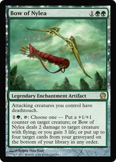 ***4x Bow of Nylea*** MTG Theros THS MINT -Kid Icarus-