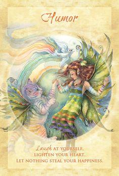 """""""Humor"""" Magical Times Empowerment Cards par Jody Bergsma"""