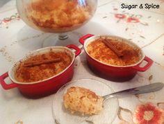 Sugar & Spice: Arroz Doce Caramelizado :D