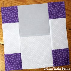Creatin' in the Sticks: 30 Quilt Blocks in 30 Days - Block 5 and 6